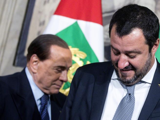 I timori di Berlusconi per le aziende. Salvini: ministri chiave al M5S