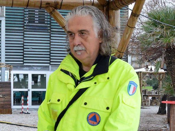 Il capo della protezione civile di Livorno Riccardo Stefanini (Foto Simone Lanari)