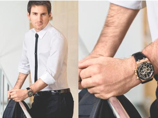 Da Messi a Guardiola, tutti i calciatori con il pallino dell'orologio Le foto