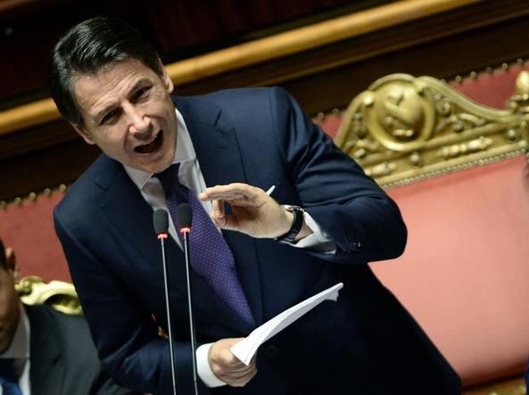 Conte il discorso al senato su migranti e russia la for Oggi parlamento diretta