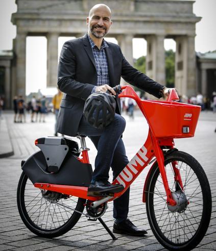 Ecco Jump, la bici elettrica di Uber