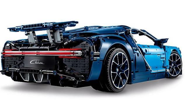 Chiron Lego, la Bugatti (quasi) per tutti