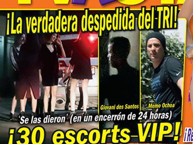 Messico, scandalo sessuale prima del Mondiale: festino per 8 con 30 escort