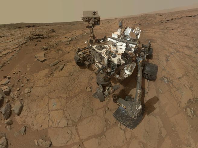 La sonda Curiosity scopre su Marte  i «mattoni della vita»