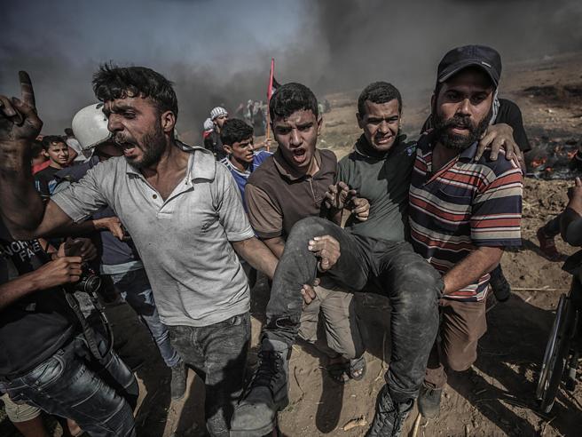 Gaza, 4  palestinesi morti e 600 feriti: riunione  all'Onu