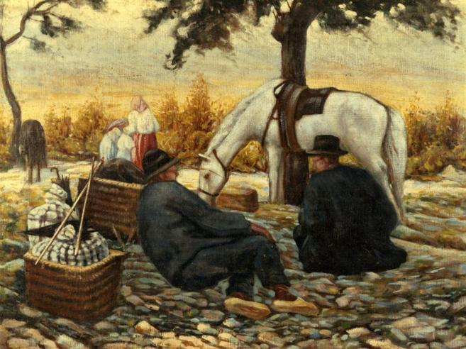 Il Van Gogh sparito in Abruzzo: «Non cercatelo, porta guai»