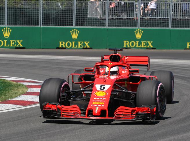 F1, Vettel conquista la pole in Canada la Ferrari vola, Hamilton solo quarto
