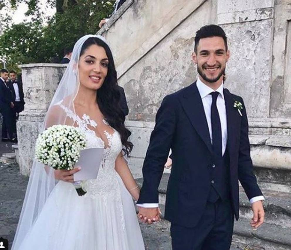 d41d942c8e8c Matteo Politano sposa la sua Silvia
