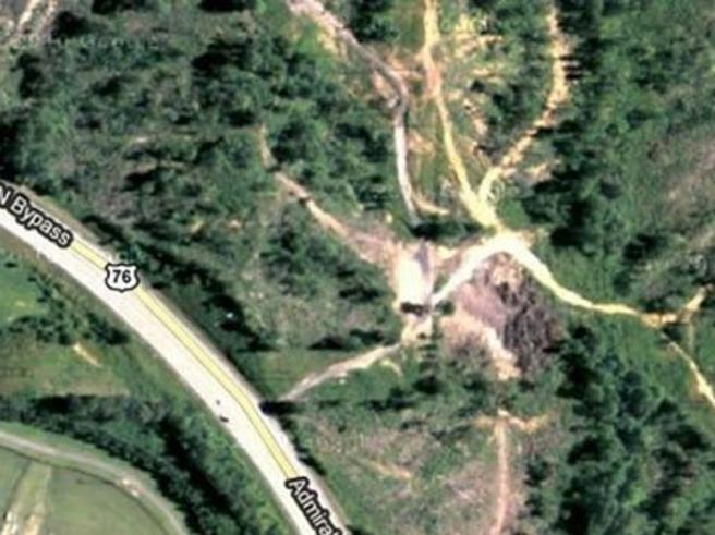 I luoghi più misteriosi della terra scovati grazie a Google Earth