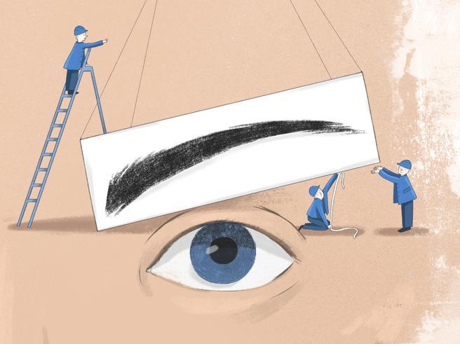 Gli occhi sono il vero specchio dell'anima? No, le sopracciglia
