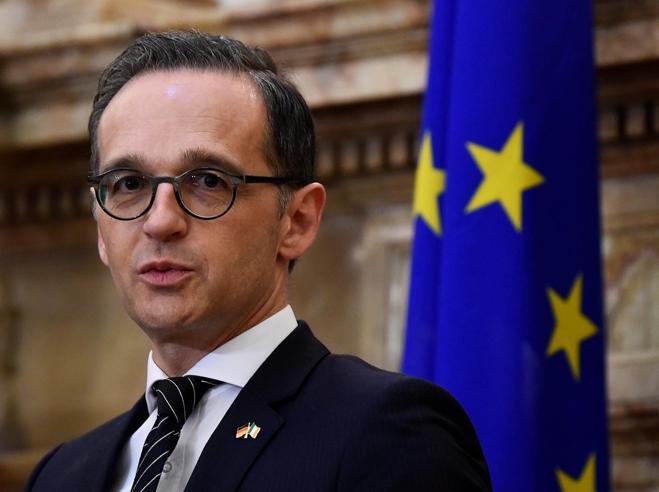Il ministro  tedesco Maas: «Sui migranti anche errori nostri l'Italia non va lasciata sola»