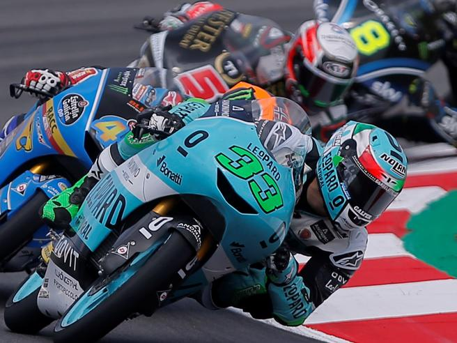 doppietta italiana in Moto 3 vince Bastianini