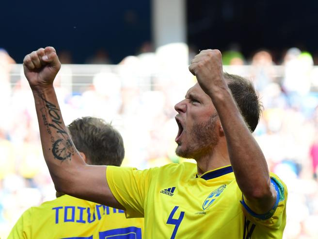 Mondiali 2018, Svezia-Corea del Sud 1-o: decisivo il rigore di Granqvist