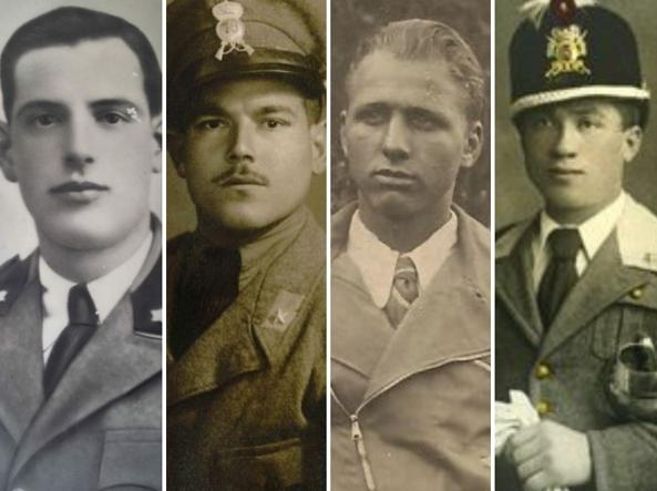 Da sinistra, Pietro Ramoino, Pasquale Iorio,  Lorenzo Scaramella e Giuseppe Muselli