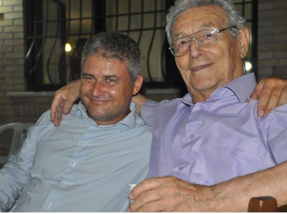 Da sinistra il nipote e il fratello di Pasquale Iorio: ovvero padre e figlio, Raffaele e Luca, 47 e 87 anni