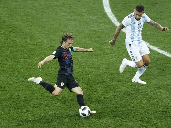Tracollo dell'Argentina sotto i colpi della Croazia:  finisc