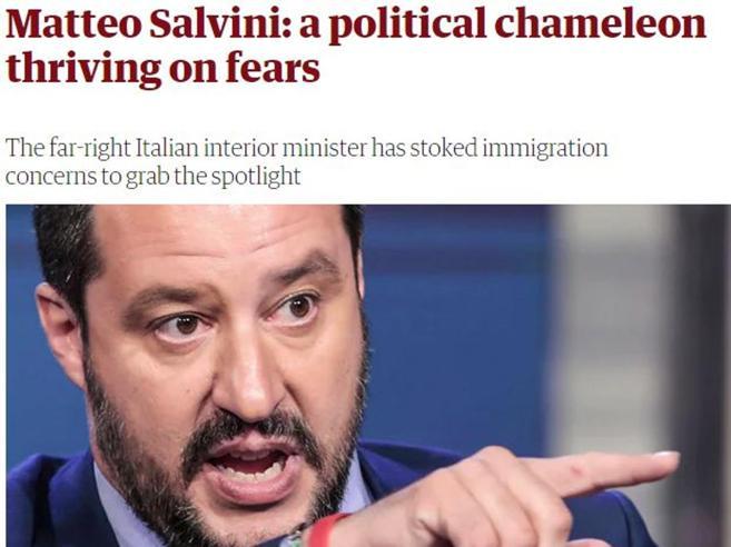 «Quando il camaleonte Salvini tifava per la  Germania»