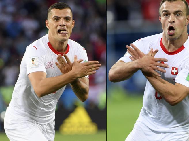 Mondiali 2018, polemica sul gesto dell'aquila, la Serbia presenta ricorso alla Fifa