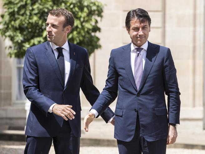 Macron alza il tiro su RomaDi Maio: è il  nemico numero uno