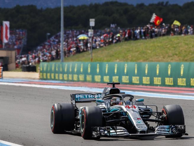 F1, Gp di Francia 2018: Hamilton vince, Vettel scontro e rim