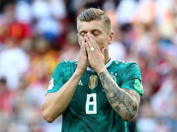Toni Kroos, centrocampista della Germania (Reuters)