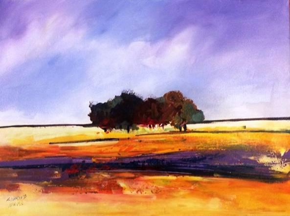 «Sunrise», opera dell'artista africano Charles Nkomo (courtesy Amazwi Contemporary Art)