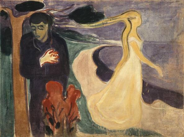 Separazione, un dipinto realizzato nel 1896 dall'artista norvegese Edvard Munch (1863-1944) e conservato attualmente nel Munch Museum di Oslo