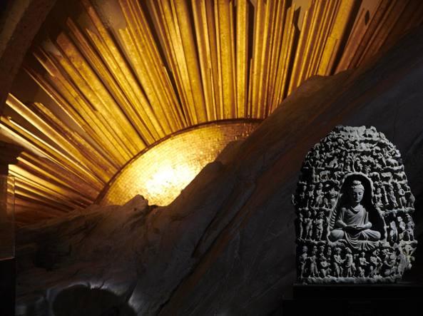 Un'immagine della mostra «Il mistero dell'origine»