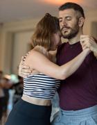 Filocamo mentre balla il tango