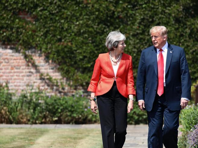 Vertice Trump-May: «Sì a un'area di libero scambio tra Usa e Gran Bretagna» Foto