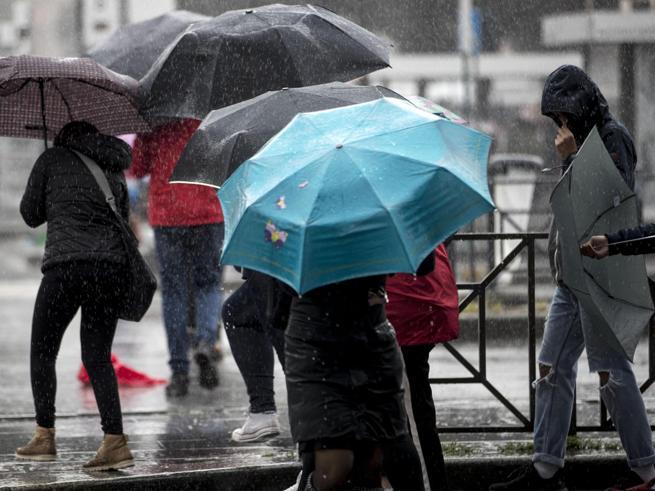 Maltempo, in arrivo piogge e temporali al Centro Nord Meteo