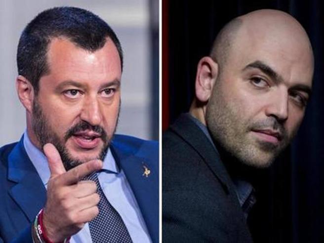 Salvini querela Saviano su carta intestata del Viminale