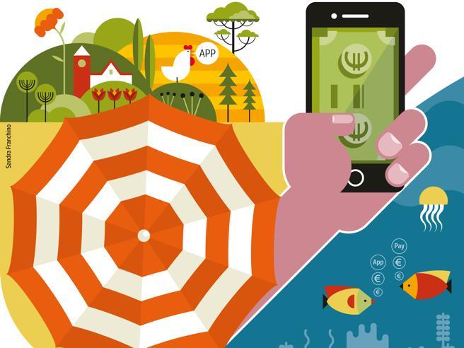 Guida sicura a un'estate senza contantiApp, carte contactless e Qr code li usi anche in vacanza |L'Economia oggi gratis