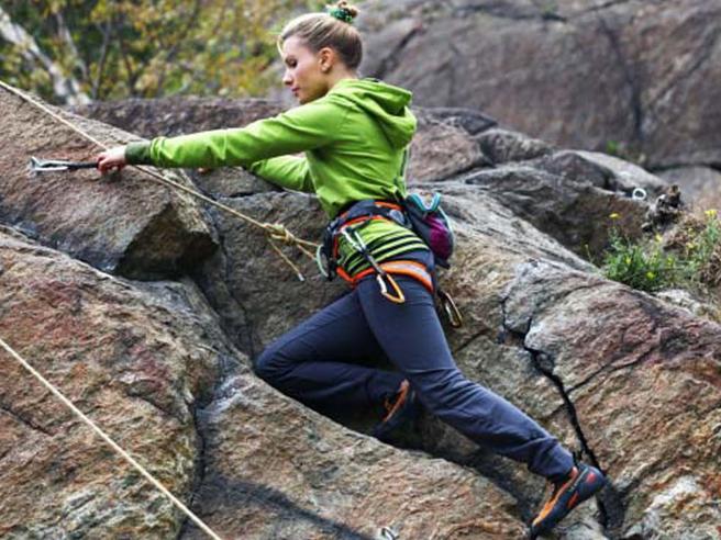 «Il neuroblastoma mi ha tolto la vista Ma ora batto tutti nell'arrampicata»