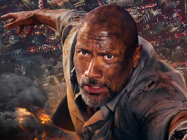 «Skyscraper» e gli  11 film da non perdere nel weekend
