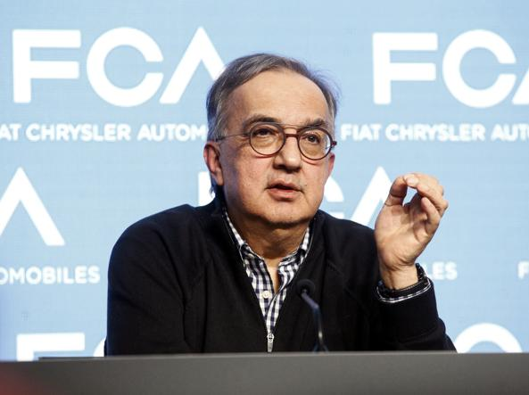 Il top manager Sergio Marchionne