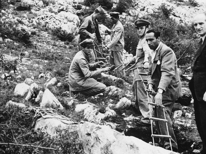 Ritrovata vicino a Fiume una fossa comune di italiani uccis
