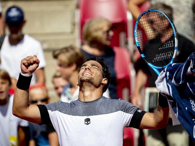 Tennis, Fognini in finale a Bastad insegue il titolo numero 7