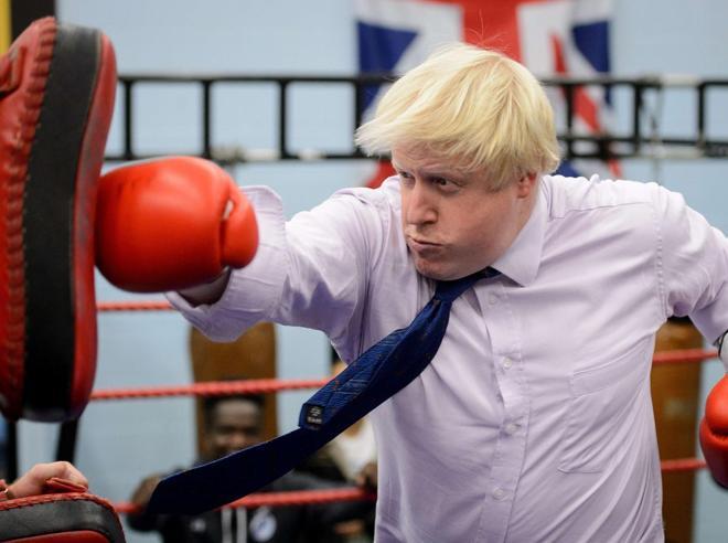 Boris «squatter»  non lascia la super  residenza riservata