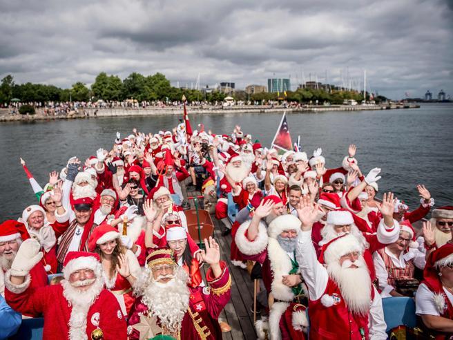 Anche Babbo Natale va in vacanza, a Copenaghen