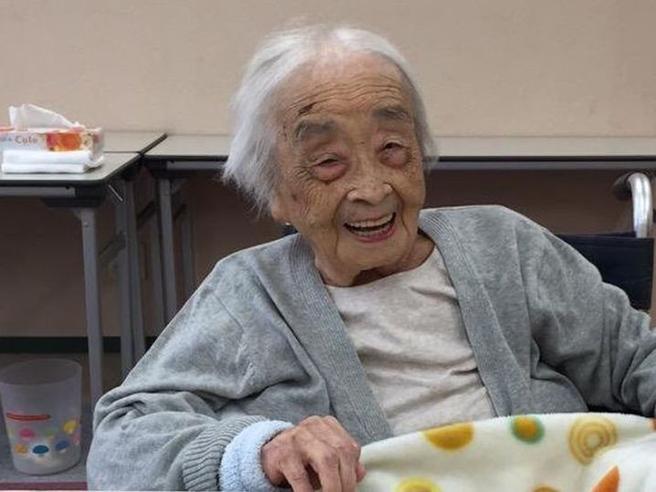 È morta Chiyo, la donna più vecchia del mondo:aveva 117 anni