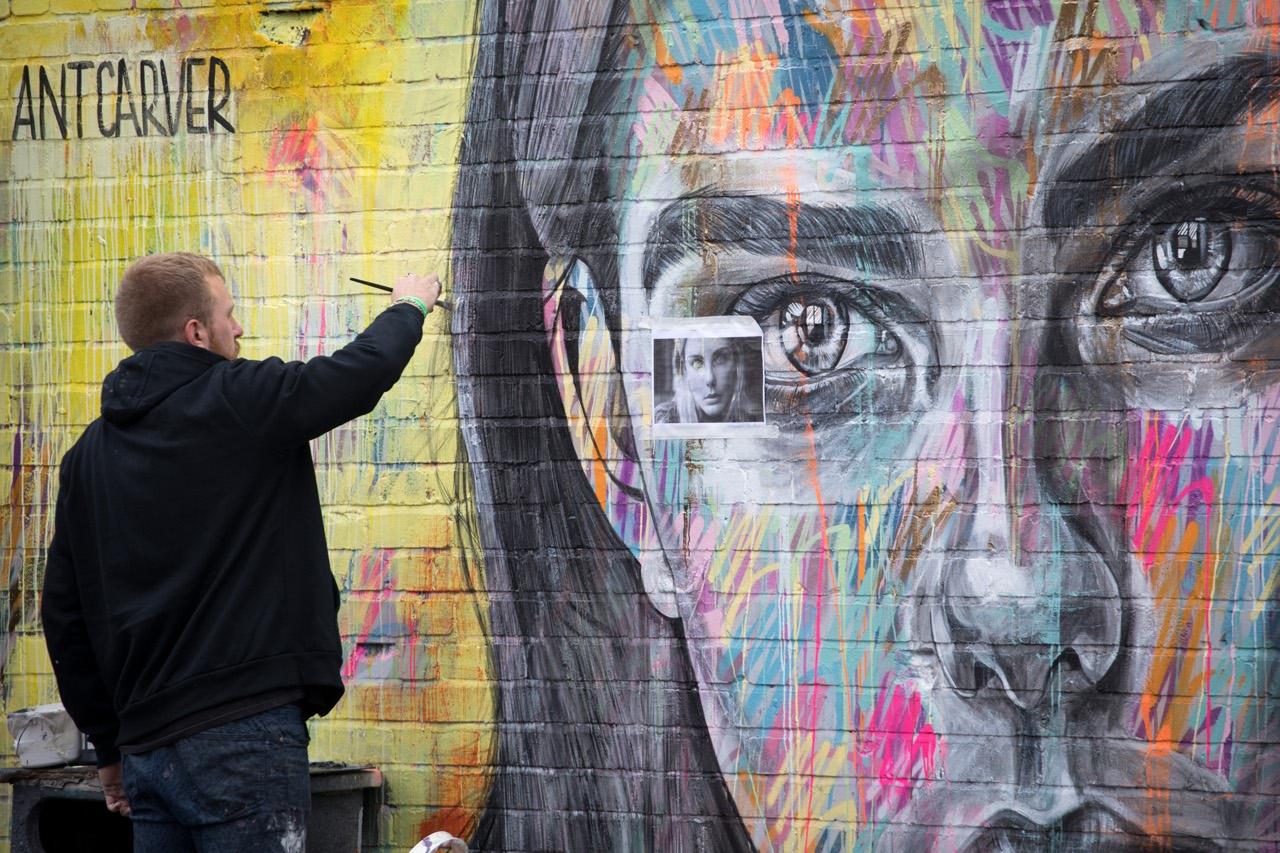 I Piu Bei Murales.I Murales Piu Belli Del Mondo All Upfest 2018 Di Bristol Corriere It