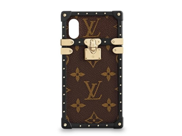 Cover Eye Trunk per iPhone X di Louis Vuitton.