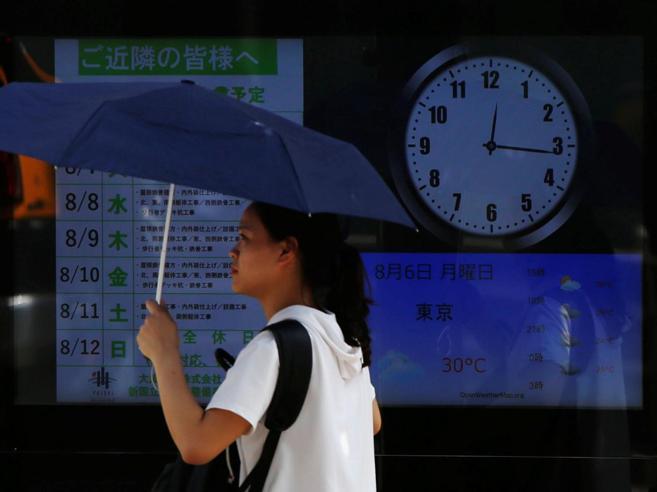 Olimpiadi 2020, il Giappone vuole cambiare l'ora per il troppo caldo
