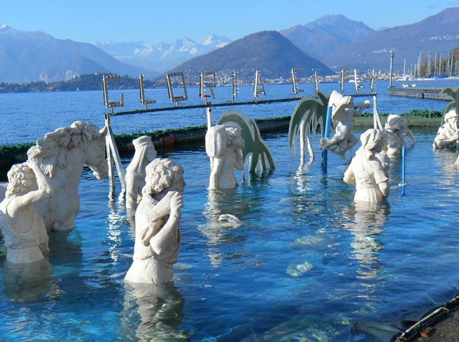Il Lago Maggiore evapora, tre centimetri in meno al giornoE l'afa non molla Le previsioni