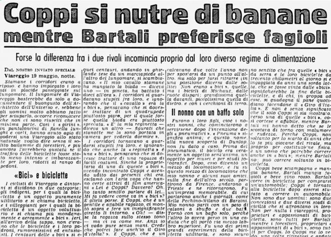 Montanelli e l'epica di Coppi e Bartali: così li raccontò sul Corriere della Sera