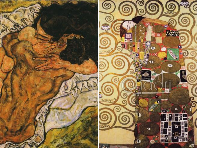 Schiele e Klimt  vite (e arti) paralleleLe immagini: guarda