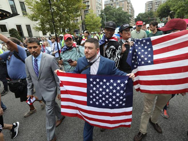 Un flop la marcia dei neonazisti UsaWashington li isola: «No ai  razzisti»