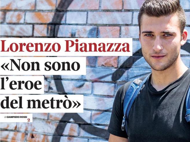 Lorenzo, 18 anni: «Ho salvato quel bimbo nel metrò ma non chiamatemi eroe»