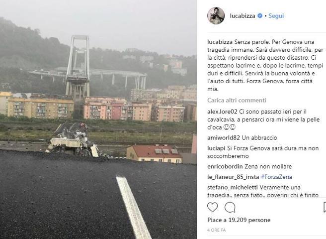 Luca Bizzarri e il crollo: «Senza parole, so già che nessuno pagherà»